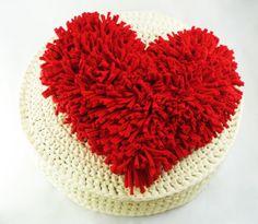 almohadon corazon