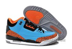 purchase cheap c8aad 7a827 New Air Jordan 3 Thunder Custom Russell Westbrook Authentic K2CJtG