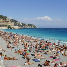 Nice: France. Probably one of the nicest places to go and study French.