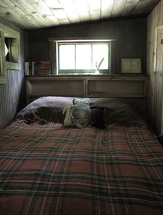 "This could be a lower level ""master bedroom"" of a tiny house?"
