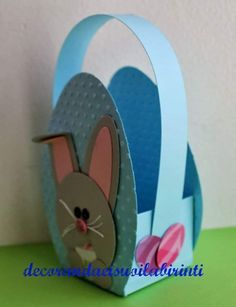 Easter Arts And Crafts, Diy Arts And Crafts, Paper Crafts, Diy Crafts, Diy For Kids, Crafts For Kids, Basket Crafts, Decorate Notebook, Easter Crafts