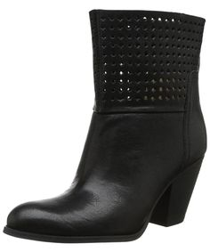 NINE WEST | Nine West Women's Hippychic Leather Ankle Boots #Shoes #Boots & Booties #NINE WEST