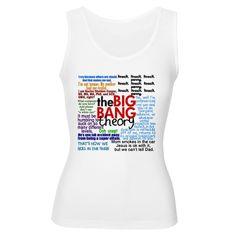 Big Bang Quotes Women's Tank Top