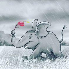 Elephant Walk, Elephant Love, Fabric Animals, Pebble Painting, String Art, My Animal, Animals Beautiful, Folk Art, Character Design