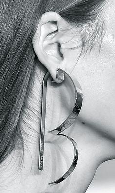 691c47f7dec6f 202 Best Big Earrings images in 2018 | Ear rings, Earrings, Jewelry