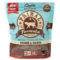 Primal Pet Food Raw Diet Feline Chicken  Salmon Formula 3Pound Nuggets *** Want additional info? Click on the image.