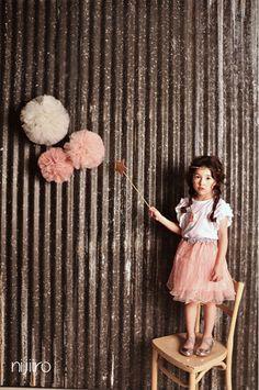 韓国子供服 通販 Dimplemoment ディンプルモーメント パニエスカート