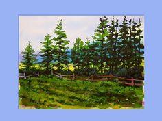 Line of Pines © 2002 Gregory Conley