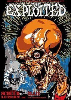 Heavy Metal Rock, Heavy Metal Music, Arte Horror, Horror Art, Rock N Roll, Zombie Logo, Punk Quotes, Arte Punk, Hardcore Music