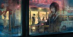 anime rain city - Google Tìm kiếm Original Wallpaper, Hd Wallpaper, Wallpapers, Image Painting, Couple Art, Hatsune Miku, All Art, Fairies, Anime Art