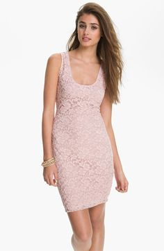 Fire Lace Tank Dress (Juniors) available at #Nordstrom