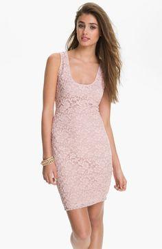 Fire Lace Tank Dress (Juniors) | Nordstrom @Julie Poletti can I wear this? it will match Nina