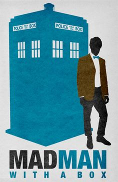MADMAN With A Box  (Doctor Who/Mad Men mash-up)  by Travis English (akastarwarskid)