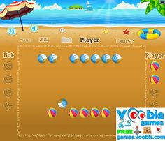 Remove all the balls from your opponent off the beach. Shoot against the balls from your opponent. Click and drag to determine speed and direction. Beach Shoot, Beach Ball, 100 Free, News Games, Free Games, Arcade, Balls, Have Fun, Action
