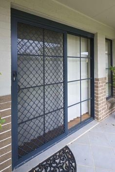 Sliding Glass Door Security Door Designs Plans This I Like With A