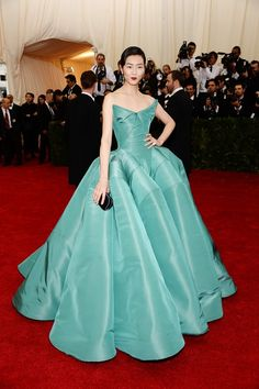 The Most Gorgeous Looks From The Met Gala via @WhoWhatWear