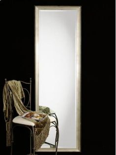 Stunning SILVER LEAF Full Length Dressing Wall Mirror Tall Long Hollywood Our extra long silver leaf wall mirror is simply stunning. Its high quality, solid Wall Mounted Mirror, Wall Mirror, Uttermost Mirrors, Hollywood Homes, Dressing Mirror, Thing 1, Beveled Glass, Lake Oswego, Oversized Mirror