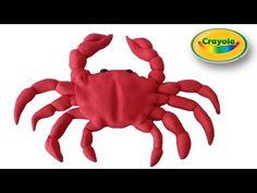 Realistic Crab air dry clay / polymer clay tutorial