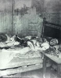 The Five Known Victims of Jack the Ripper (Caution - Some pictures are graphic and gruesome)Victim #5 Mary Kelly Body Found November 9, 1888