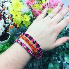 Ručně šité náramky z korálků Friendship Bracelets, Bangles, Jewelry, Jewlery, Jewels, Jewerly, Jewelery, Bracelets, Friendship Bra