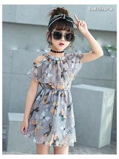 Girls Frock Design, Baby Dress Design, Kids Frocks Design, Baby Frocks Designs, Girls Dresses Sewing, Little Girl Outfits, Little Girl Fashion, Little Girl Dresses, Kids Dress Wear
