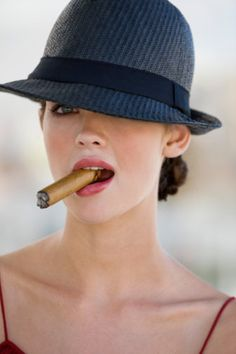 It's pretty awesome when girls beat the boys at their own game! #girlpower Cigar Diva of the Week – Daniel Tirta