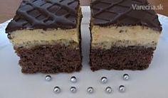Orechovo-karamelový zákusok (fotorecept) Nutella, Tiramisu, Cheesecake, Food And Drink, Drinks, Anna, Lemon, Drinking, Beverages