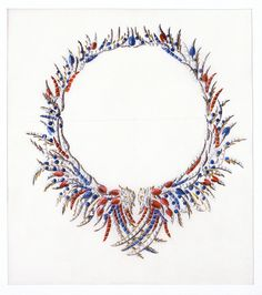 For three decades, Jean Schlumberger envisioned imaginative, colorful creations for Tiffany such as his Plumes necklace, which was inspired by the feathers of an exotic creature.