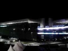 Iluminação da Fachada da Arena Pantanal com Lâmpadas de LED
