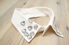 DIY jewel collar