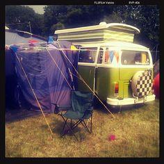 VW campervans . Festival campsites bring on the summer x