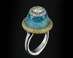 Wallace Chan opal ring #jewelry