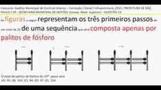 Curso Raciocínio Lógico Teste Psicotécnico Contagem palito fósforo Detra... https://youtu.be/u97ROPJmCMA