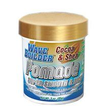 Product Description  Wave Builder Cocoa AND Shea Deep Wave Pomade is the best wave forming pomade builds, creates, holds and defines waves. Protein & Amino Acid Fortified For Serious Wave  Price: $5.99 Brand: WaveBuilder
