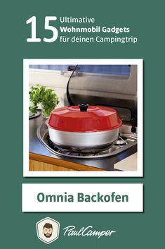 Omnia oven - the 15 ultimate camper gadgets for your camping trip, Camping Gadgets, Cool Gadgets, Camping Hacks, Van Camping, Camping Gear, Camper Diy, Mobile Living, Festival Camping, Camping Equipment