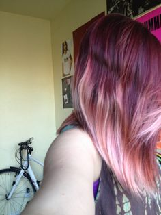 1000 Images About My Crazy Hair On Pinterest Ion Color