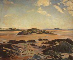Robertson, Eric, (1887-1941), Fleet Bay, Kirkcudbrightshire, 1923, Oil