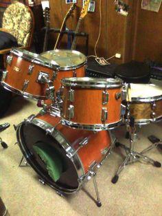 VINTAGE70's 4 Piece Pearl Drums Set Shells Only | eBay