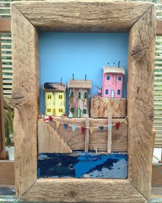 #driftwood #driftwoodsculpture #recycled #harbour #seaside #artwork #etsyeveryday ......and then like a bus along comes another! All available on my Etsy shop!