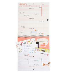 Busy B Familienkalender 2016 Vögel Ein Steckfach jeden Monat für Briefe, Einladungen, Karten und wichtige Notizen Platz für bis zu fünf Terminpläne, blau: Amazon.de: Bürobedarf & Schreibwaren