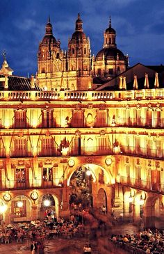 This place~ changed my life Salamanca, Spain. Study at the University of Salamanca. Places In Spain, Oh The Places You'll Go, Places To Travel, Places To Visit, Madrid, Belle Villa, Spain And Portugal, Culture Travel, Spain Travel