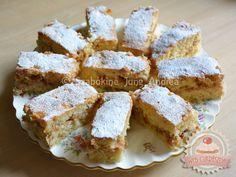 Kavart almás Austrian Recipes, Hungarian Recipes, Sweet Cookies, Cake Cookies, Hungarian Cookies, Best Food Ever, Pound Cake, Cookie Recipes, Tart