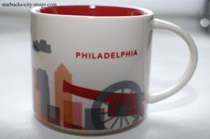 Philadelphia | YOU ARE HERE SERIES | Starbucks City Mugs