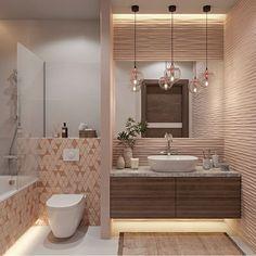 Дизайн ванной. Вам нравится цветовое решение? . . Автор Федорова Екатерина