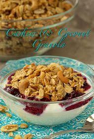 The Café Sucré Farine: The Best Granola Recipe - w/ Cashews & Coconut