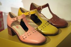 Orla x clarks ss15 - can't wait to get my hands on these to add to my kiely shoe collection but what colour!