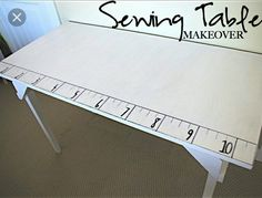Sewing Table Tricks