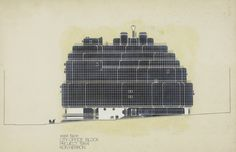 City of London Office Block (Taylor Woodrow), Archigram  #unbuiltlondon