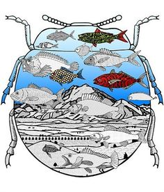 Richard Killeen - Landscape with extra fish