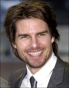 Tom Cruise in orthodontics!  Pre-Invisalign - He would no doubt go for Invisalign if given the option!